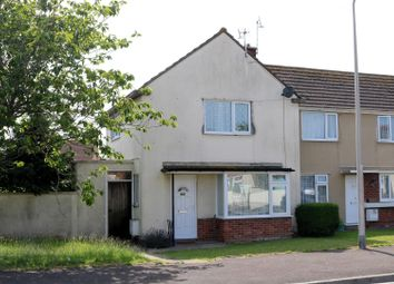 Thumbnail 2 bedroom end terrace house for sale in Canberra Road, Weston-Super-Mare