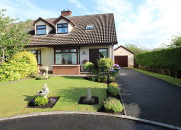 Thumbnail 3 bed semi-detached house for sale in Tudor Park, Carrickfergus