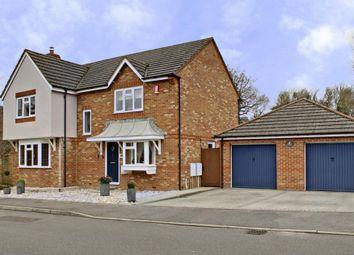 Thumbnail 4 bed detached house for sale in Foxs Furlong, Chineham, Basingstoke