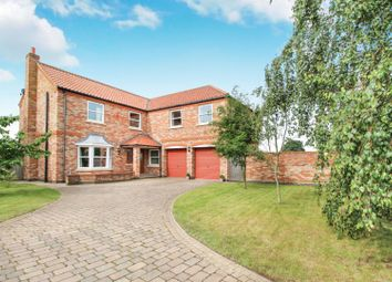 Thumbnail 5 bedroom detached house for sale in Skipwith, Selby