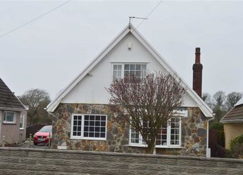 Thumbnail 3 bed detached house for sale in Glynhir Road, Swansea