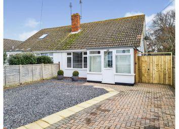 Carlton Avenue, Rose Green, Bognor Regis PO21. 2 bed semi-detached bungalow for sale