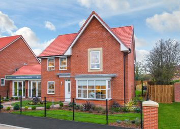 "Thumbnail 4 bed detached house for sale in ""Cambridge"" at Weddington Road, Nuneaton"