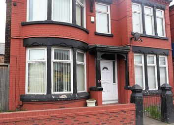 Thumbnail 5 bed terraced house to rent in Queens Drive, Walton, Liverpool