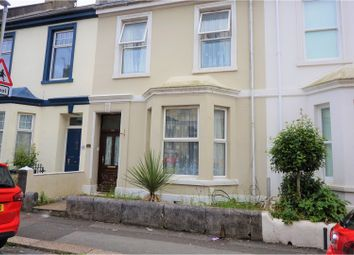 Thumbnail 5 bedroom terraced house for sale in Palmerston Street, Plymouth