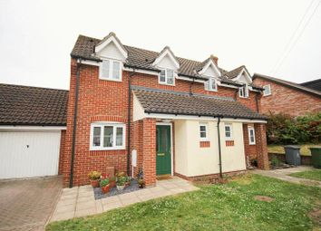 Thumbnail 3 bed semi-detached house for sale in Station Drive, Reedham, Norwich