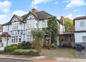 Thumbnail 3 bed semi-detached house for sale in Claremont Park, Finchley N3,