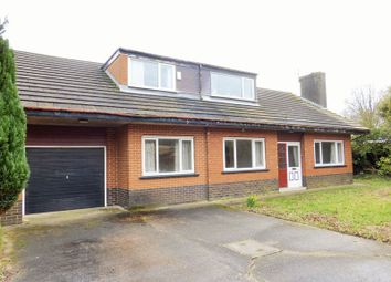 Thumbnail 4 bed bungalow for sale in Liverpool Old Road, Much Hoole, Preston