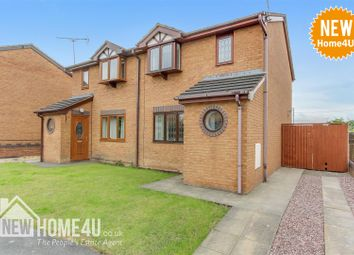 Thumbnail 2 bed semi-detached house for sale in Moorefields, Buckley