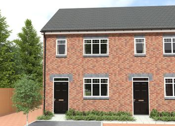 Thumbnail 4 bed town house for sale in Peel Street, Tipton