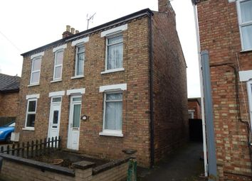 Thumbnail 2 bed semi-detached house for sale in 101 Ramnoth Road, Wisbech, Cambridgeshire