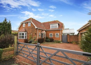 Thumbnail 4 bed detached house for sale in Merrington Close, New Hartley, Whitley Bay