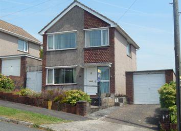 Thumbnail 3 bed detached house for sale in Bryntawe Road, Ynystawe, Swansea