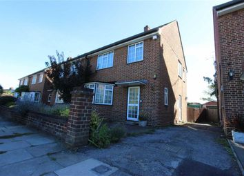 Thumbnail 3 bed semi-detached house for sale in Riverbank, Winchmore Hill, London