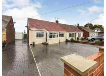Thumbnail 3 bed semi-detached bungalow for sale in Angerton Avenue, Newcastle Upon Tyne