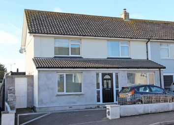 Thumbnail 4 bed end terrace house for sale in Parkland Close, Newquay