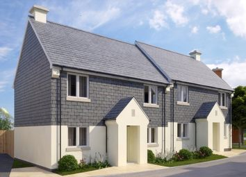Thumbnail 3 bedroom semi-detached house for sale in The Elberry, Plot 18 Offshore, Off School Road, Stoke Fleming, Dartmouth, Devon