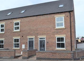 Thumbnail 3 bed town house for sale in Ashby Road, Woodville, Swadlincote