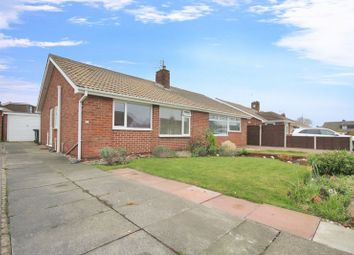 Thumbnail 2 bed semi-detached bungalow for sale in Castle Road, Redcar