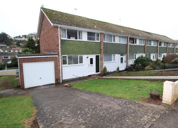 Thumbnail 3 bedroom end terrace house for sale in Burleigh Road, Shiphay, Torquay