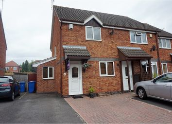 Thumbnail 2 bedroom end terrace house for sale in Pendleside Way, Littleover