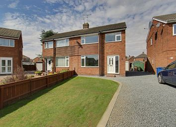 Thumbnail 3 bed semi-detached house for sale in Crowther Close, Beverley