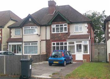 Thumbnail 3 bed semi-detached house to rent in Alum Rock Road, Alum Rock, Birmingham