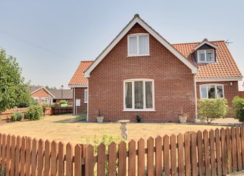 Thumbnail 4 bed detached house for sale in Church Lane, Felthorpe, Norwich