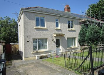 Thumbnail 3 bed semi-detached house for sale in Sannon Street, Aberbargoed