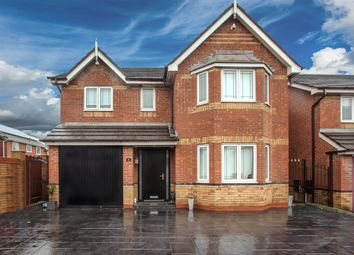 Thumbnail 4 bed detached house for sale in Tarragon Drive, Blackpool