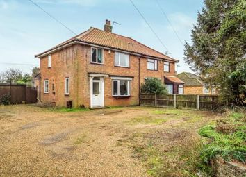 Thumbnail 3 bed semi-detached house for sale in Hoveton, Norwich, Norfolk