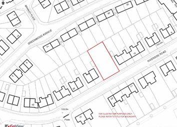 Thumbnail Land for sale in Riverside Road, Trent Vale, Stoke-On-Trent