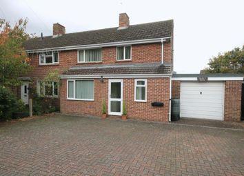 Thumbnail 3 bed semi-detached house for sale in Evenlode Crescent, Kidlington