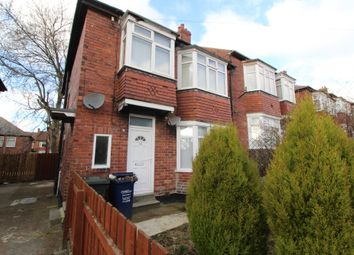 Thumbnail 3 bedroom flat to rent in Brancepeth Avenue, Newcastle Upon Tyne