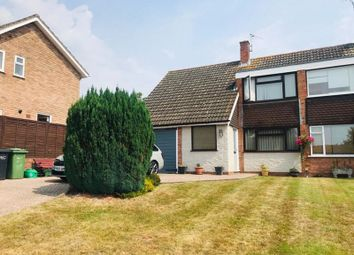 Thumbnail Semi-detached house for sale in Glenthorne Road, Holmer, Hereford