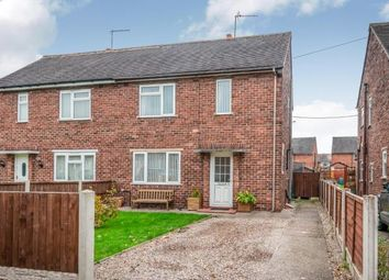 Thumbnail 2 bed semi-detached house for sale in John Offley Road, Madeley, Crewe, Staffordshire