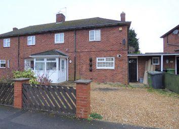 Thumbnail 3 bedroom semi-detached house for sale in Ash Road, Peterborough, Cambridgeshire.