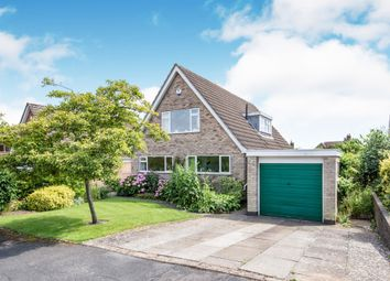Thumbnail 3 bed detached bungalow for sale in Mosse Way, Oadby, Leicester