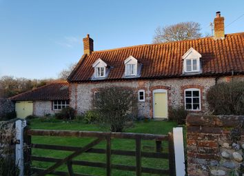 Thumbnail 2 bed cottage to rent in The Green, Felbrigg, Norwich