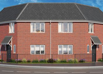 "Thumbnail 3 bed property for sale in ""The Mulberry"" at Brook Park East Road, Shirebrook, Mansfield"