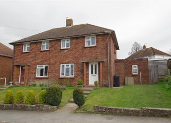 Thumbnail 3 bed semi-detached house for sale in Barn Road, Lewes