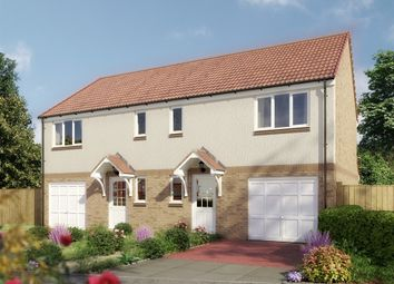"Thumbnail 3 bed semi-detached house for sale in ""The Newton "" at Stable Gardens, Galashiels"