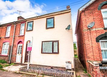 Thumbnail 2 bedroom end terrace house for sale in Victor Road, Colchester