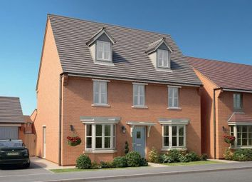 Thumbnail 5 bed detached house for sale in The Village, Barlaston, Stoke-On-Trent