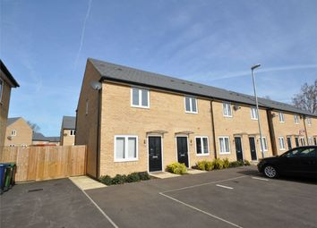 Thumbnail 2 bedroom end terrace house for sale in Meadow Gardens, Huntingdon, Cambridgeshire