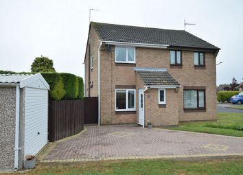 Thumbnail 2 bed semi-detached house for sale in Althorp Close, Swanwick, Alfreton, Derbyshire