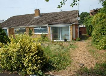 Thumbnail 2 bed semi-detached bungalow for sale in Markham Close, Duston, Northampton