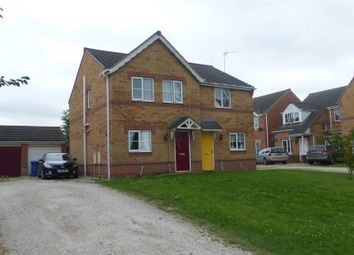 Thumbnail 3 bed semi-detached house for sale in Bowling Green Road, Gainsborough