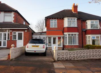 Thumbnail 3 bed semi-detached house to rent in Lea Hill Road, Handsworth, Birmingham
