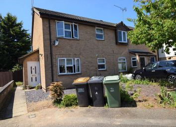 Thumbnail 1 bed terraced house to rent in Gilpin Close, Houghton Regis, Dunstable